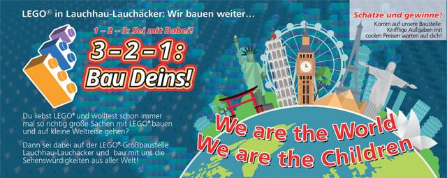 LEGO-Stadt, LEGO-Aktionswoche 7.-10.3.2019. LEGO-Bauen Faschings-Ferineprogramm für Kinder in Stuttgart Lauchhau-Lauchäcker