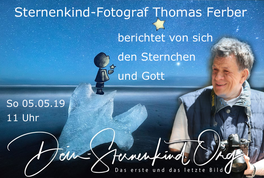 Sternenkind-Fotograf Thomas Ferber berichtet