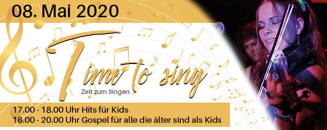 Time to Sing | Unter der Leitung von YVI SZONCSO